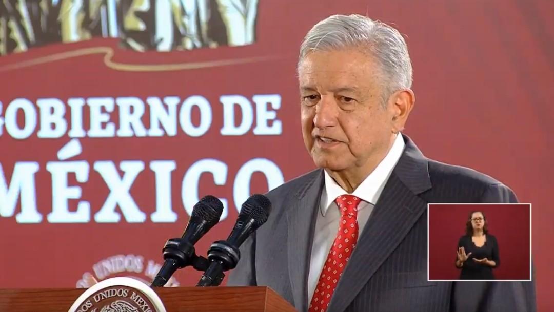 Foto: El presidente de México, Andrés Manuel López Obrador, 23 de octubre de 2019, Ciudad de México