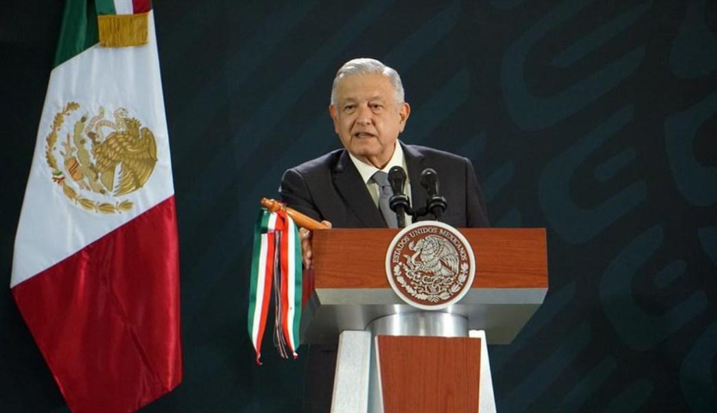 Foto: El presidente Andrés Manuel López Obrador envía mensaje a militares tras los hechos de violencia en Culiacán, Sinaloa, el 18 de octubre de 2019 (EFE)