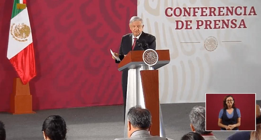 FOTO Transmisión en vivo: Conferencia de prensa AMLO 3 octubre 2019 (YouTube)