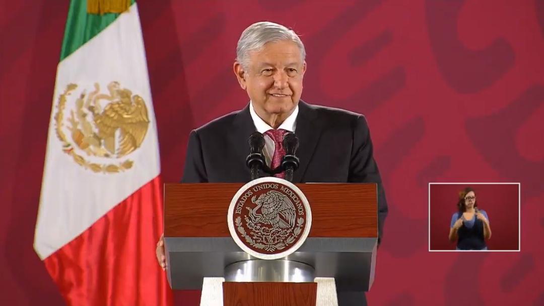 Foto: El presidente de México, Andres Manuel Lopez Obrador, ofrece una conferencia de prensa, 3 octubre 2019