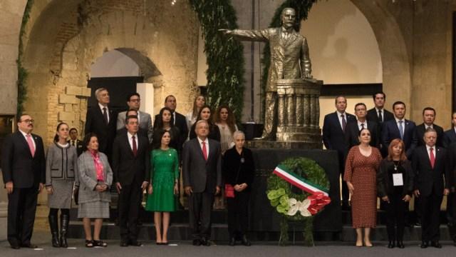 """FOTO """"Asumo el reto"""", dice AMLO por custodia de la Medalla Belisario Domínguez (Cuartoscuro/Moisés Pablo)"""
