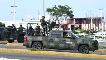 FOTO AMLO envía mensaje a soldados tras hechos violentos en Culiacán (El Debate de Culiacán/Cuartoscuro)