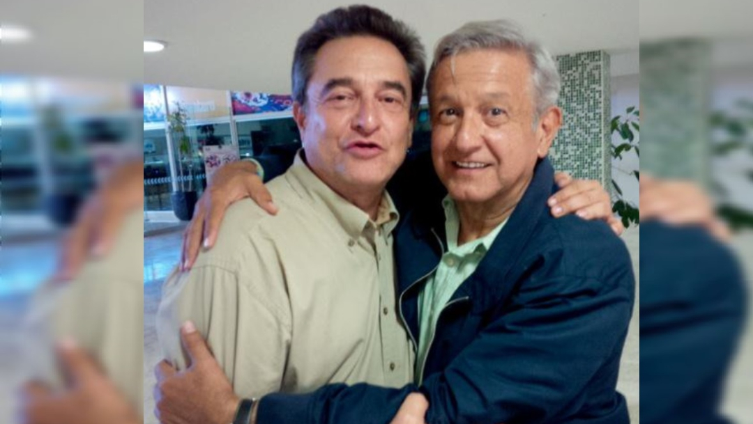 Foto: El presidente de México, Andrés Manuel López Obrador y su hermano Pío, 24 octubre 2019