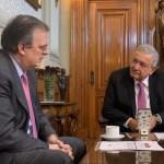 Andrés Manuel López Obrador y Marcelo Ebrard.