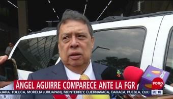 Foto: Ángel Aguirre Exgobernador Guerrero Comparece FGR Ayotzinapa 1 Octubre 2019