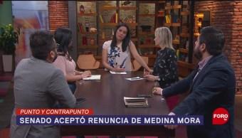 Foto: Aprueba Senado Renuncia Ministro Eduardo Medina Mora 9 Octubre 2019