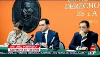 FOTO: Arturo Herrera destaca desaceleración económica sincronizada en el mundo, 19 octubre 2019
