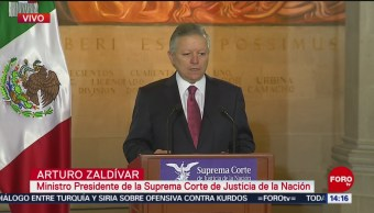 FOTO: Arturo Zaldívar, anuncia medidas contra la corrupción