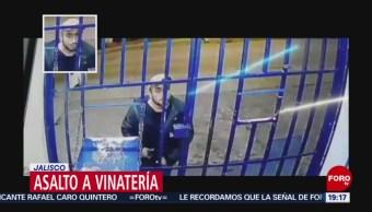 Foto: Video Asalto Tienda Vinos Licores Jalisco 23 Octubre 2019