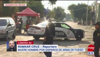 Asesinan a hombre en la alcaldía Venustiano Carranza
