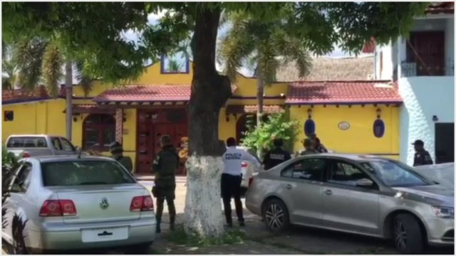 Foto: Un hombre fue asesinado al interior de restaurante en Tuxtepec, 5 de octubre de 2019 (Noticieros Televisa)