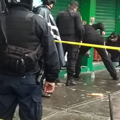 Balacera deja dos muertos en la colonia Doctores de CDMX