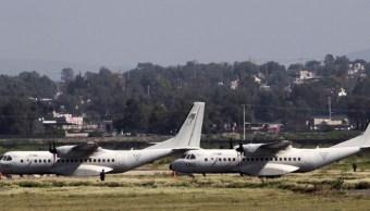 Foto: Base Aérea en Santa Lucía, septiembre 2019, México