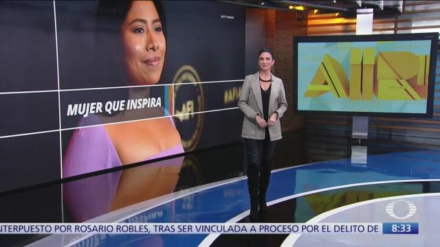 BBC elige a Yalitza Aparicio como una de las 100 mujeres más inspiradoras