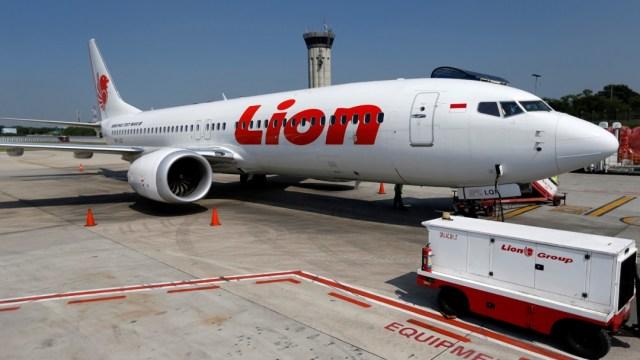 FOTO: El vuelo JT610 de Lion Air cayó al mar el 29 de octubre del año pasado al poco de despegar de Yakarta