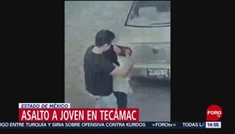 FOTO: Video asalto joven Tecámac