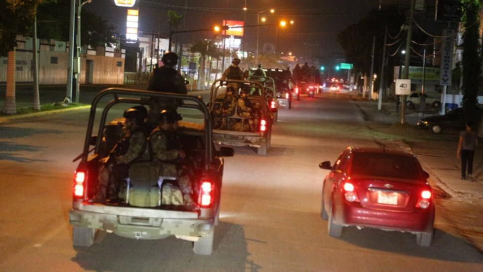 Foto: El jueves en Culiacán, Sinaloa, se registraron fuertes enfrentamientos armados en distintas partes de la ciudad, 19 de octubre de 2019 (Twitter @sspsinaloa1)