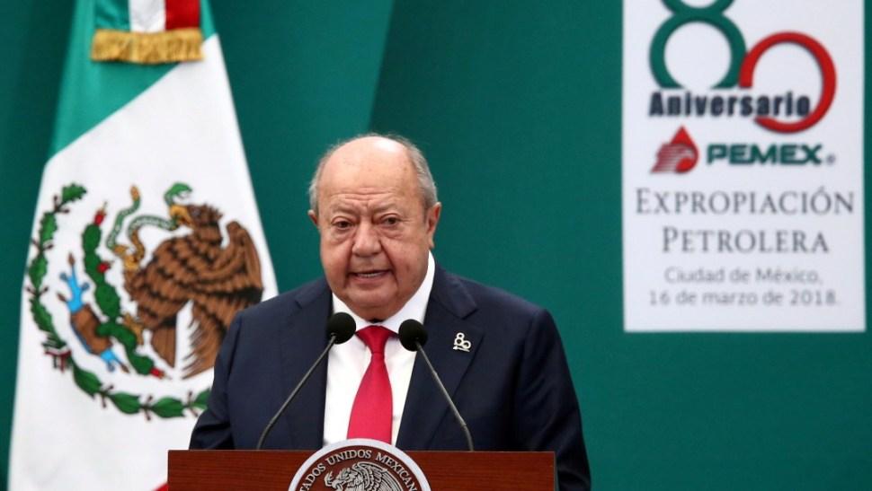 Foto: Carlos Romero Deschamps renuncia al sindicato petrolero, 16 de marzo de 2018, Ciudad de México