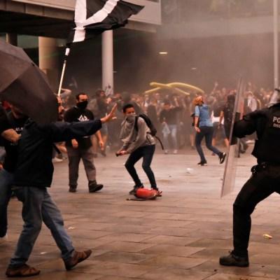 En Cataluña, suman 131 lesionados tras protestas