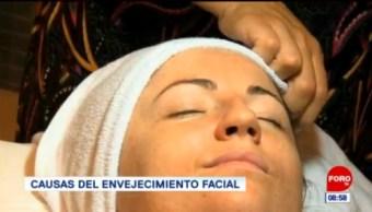 Causas del envejecimiento facial