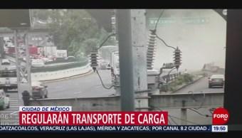 Foto: Cdmx Regulará Circulación Vehículos Carga 9 Octubre 2019