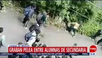 Circula en redes sociales video de pelea entre estudiantes, en CDMX