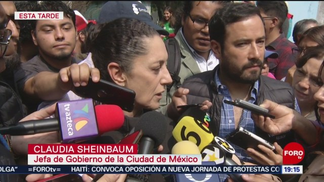 FOTO: Claudia Sheinbaum habló de investigaciones en operativo en Tepito, 26 octubre 2019