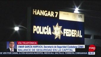 Foto: Claudio Ochoa Entrevista Omar García Harfuch16 Octubre 2019