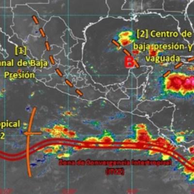 Conagua advierte sobre frente frío en Chiapas