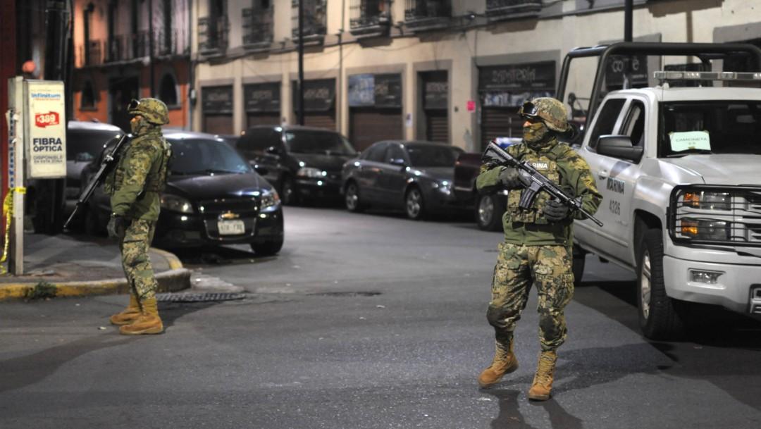 Foto: Confirman 36 detenidos y decomiso de armas y droga en Tepito, 22 de octubre de 2019, Ciudad de México