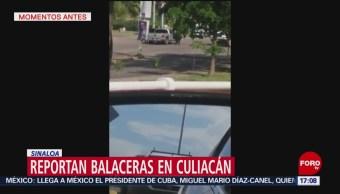 FOTO: Continúan Balaceras Diferentes Zonas Culiacán Sinaloa,