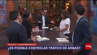 Foto: Control Tráfico Armas Mexico Posible Controlar 4 Octubre 2019