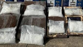 Aseguran cerca de 19 kilogramos de cristal en Sinaloa