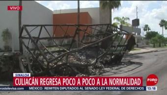FOTO: Culiacán regresa poco poco normalidad