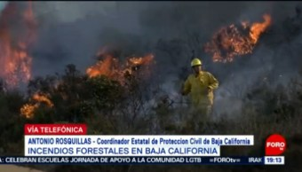 Foto: Baja California Incendios Forestales Declaran Emergencia 25 Octubre 2019