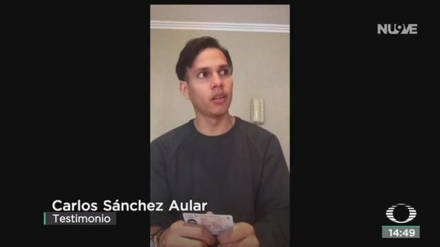FOTO: Denuncian Maltrato Personal INM Venezolanos,