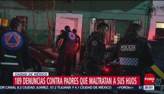 Foto: Denuncias Contra Padres Maltratan Hijos Cdmx 4 Octubre 2019