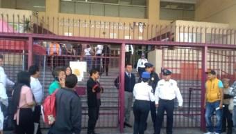 Foto: Desalojan Junta Local de Conciliación y Arbitraje por artefacto explosivo, 21 de octubre de 2019, Ciudad de México