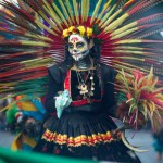 Desfile de Día de Muertos en la CDMX.