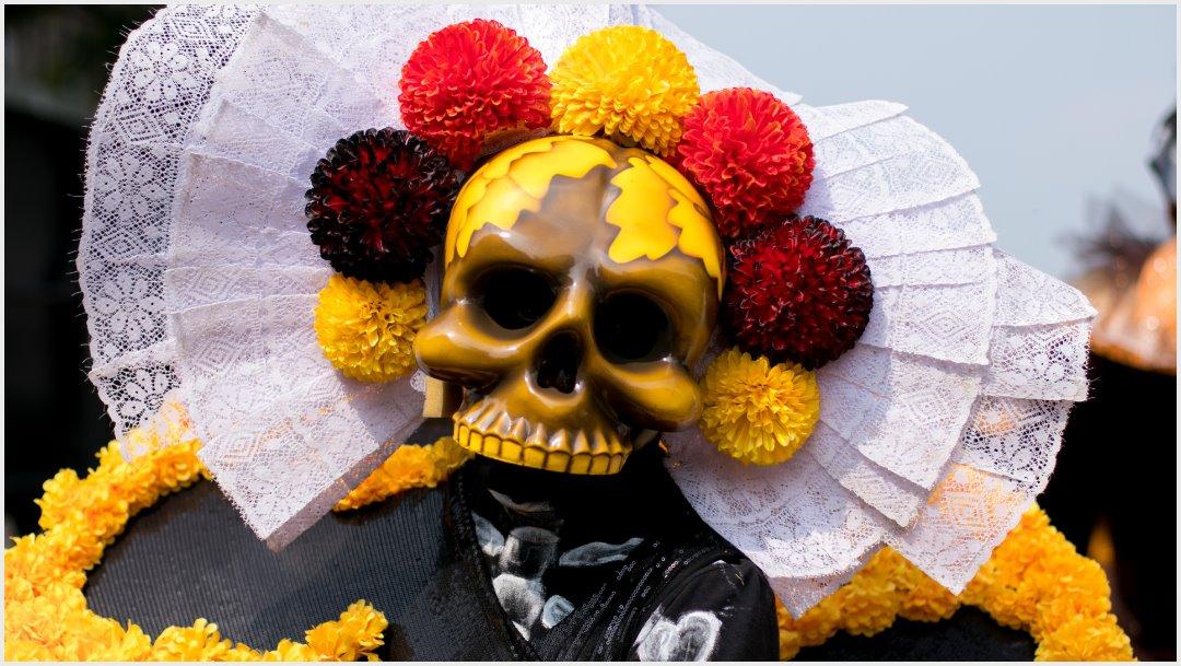 Foto: Miles de voluntarios participaron en el Desfile Internacional del Día de Muertos, 27 de octubre de 2019 (GALO CAÑAS /CUARTOSCURO.COM)