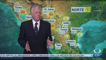 Despierta con Tiempo: Condiciones climatológicas variables en el sur