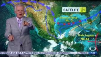 Despierta con Tiempo: Valle de México registrará lluvias e intervalos de chubascos
