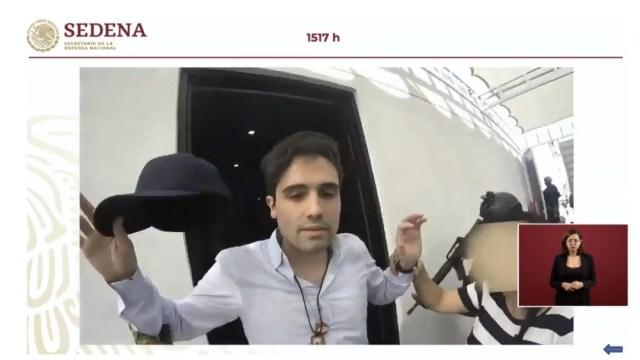"""Detención Ovidio Guzmán López, hijo de """"El Chapo Guzmán, 30 octubre 2019"""