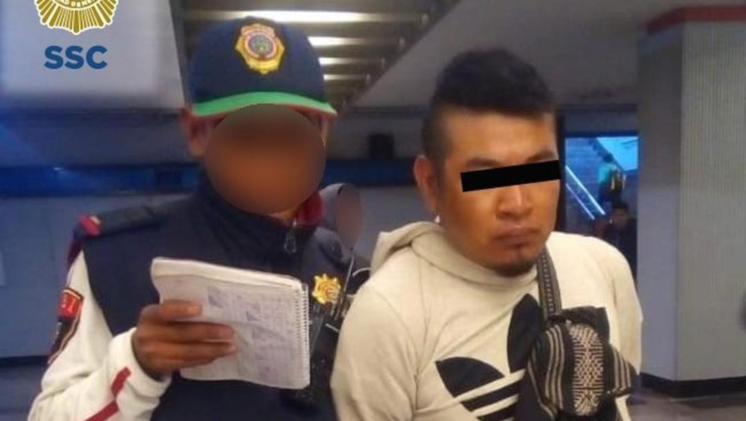 Foto: El detenido fue puesto a disposición de la Fiscalía Especializada en Delitos Sexuales Número 1, el 15 de octubre de 2019 (Redes Sociales)