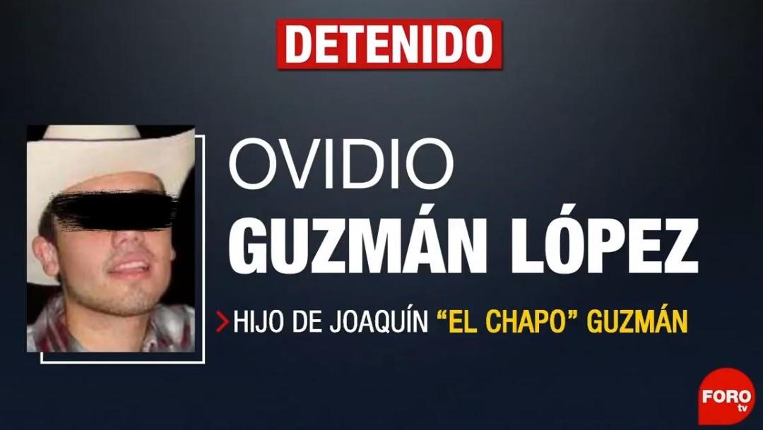 """Foto: Ovidio Guzmán López, hijo de Joaquín """"El Chapo"""" Guzmán, el 17 de octubre de 2019 (FOROtv)"""