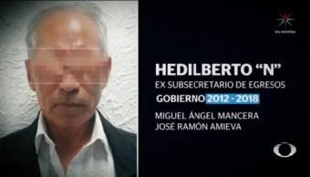 Foto: Detienen Cinco Exfuncionarios Gobierno Mancera 14 Octubre 2019