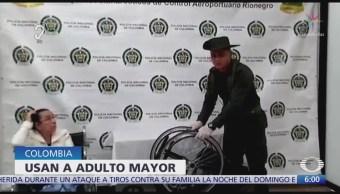 Detienen a mujer de 81 años con droga en Colombia
