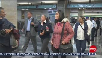 Foto: Diputados Ingresan Cámara De Diputados Metro Candelaria 23 Octubre 2019