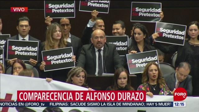 Diputados toman tribuna y piden #SeguridadSinPretextos