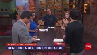 Foto: Derecho Decidir Interrupción Embarazo Hidalgo 15 Octubre 2019